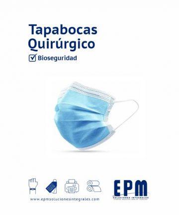 Tapabocas-Quirurgico